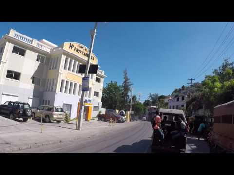 Haiti Petionville, Centre ville, Gopro / Haiti Petionville, City center, Gopro