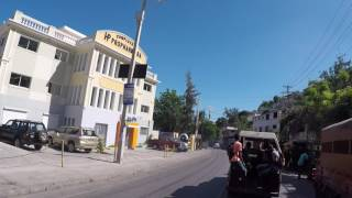 Haiti Petionville, Centre ville, Gopro / Haiti Petionville, City center, Gopro