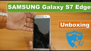 Samsung Galaxy S7 Edge Silver Unboxing India 2017