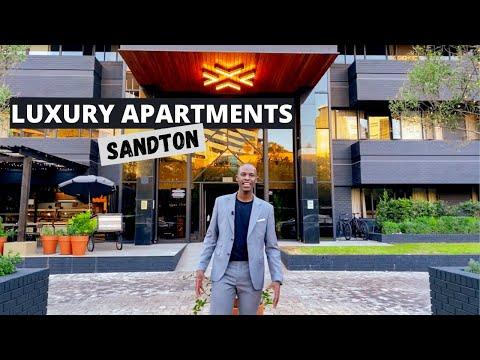 INSIDE Luxury Apartments  |  BlackBrick | Sandton|  South Africa