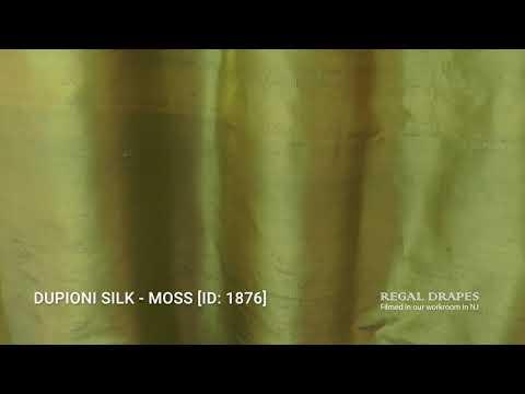 DUPIONI SILK - MOSS [ID: 1876]