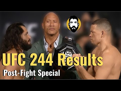 UFC 244 Results: Jorge Masvidal Vs. Nate Diaz | Post-Fight Special | Luke Thomas