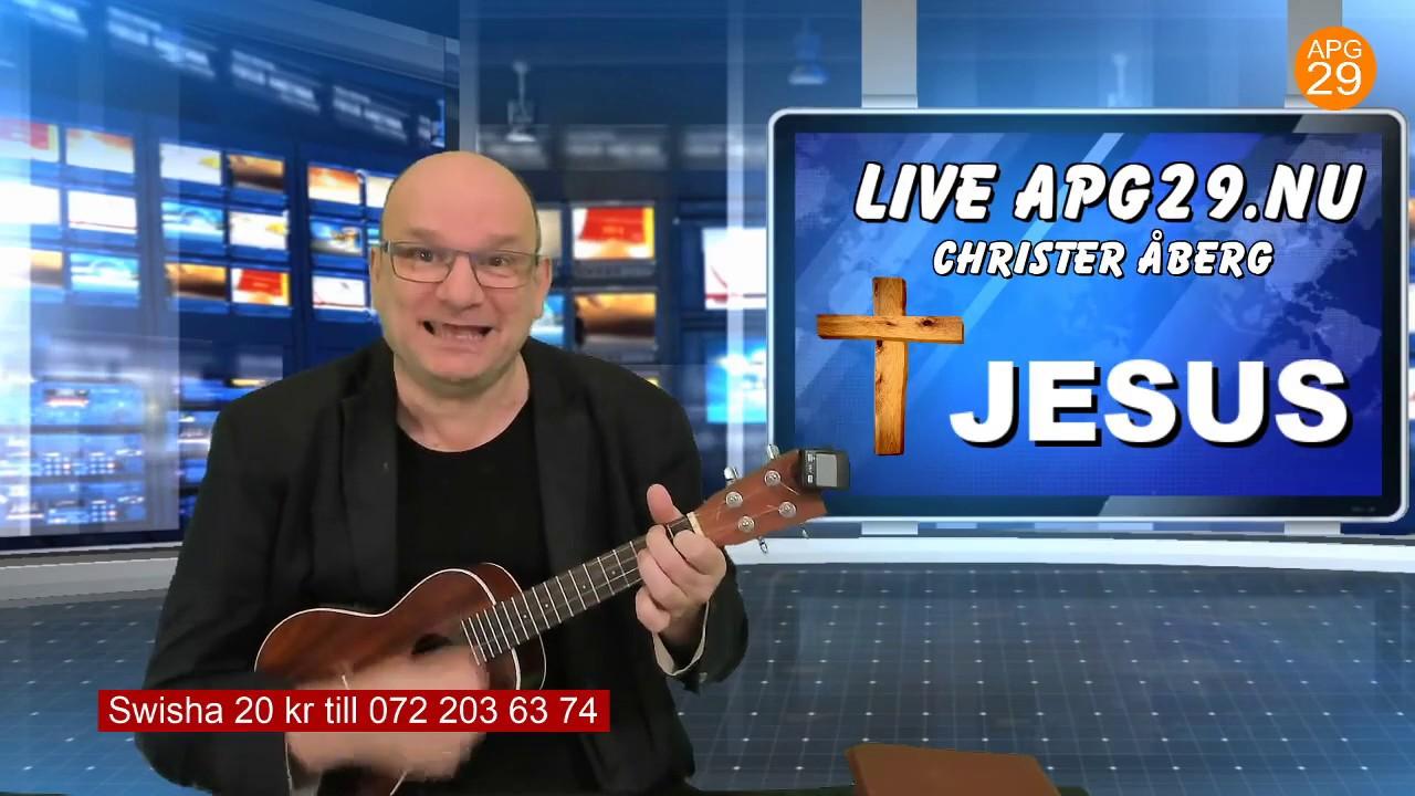 Live Apg29.Nu med Christer Åberg.