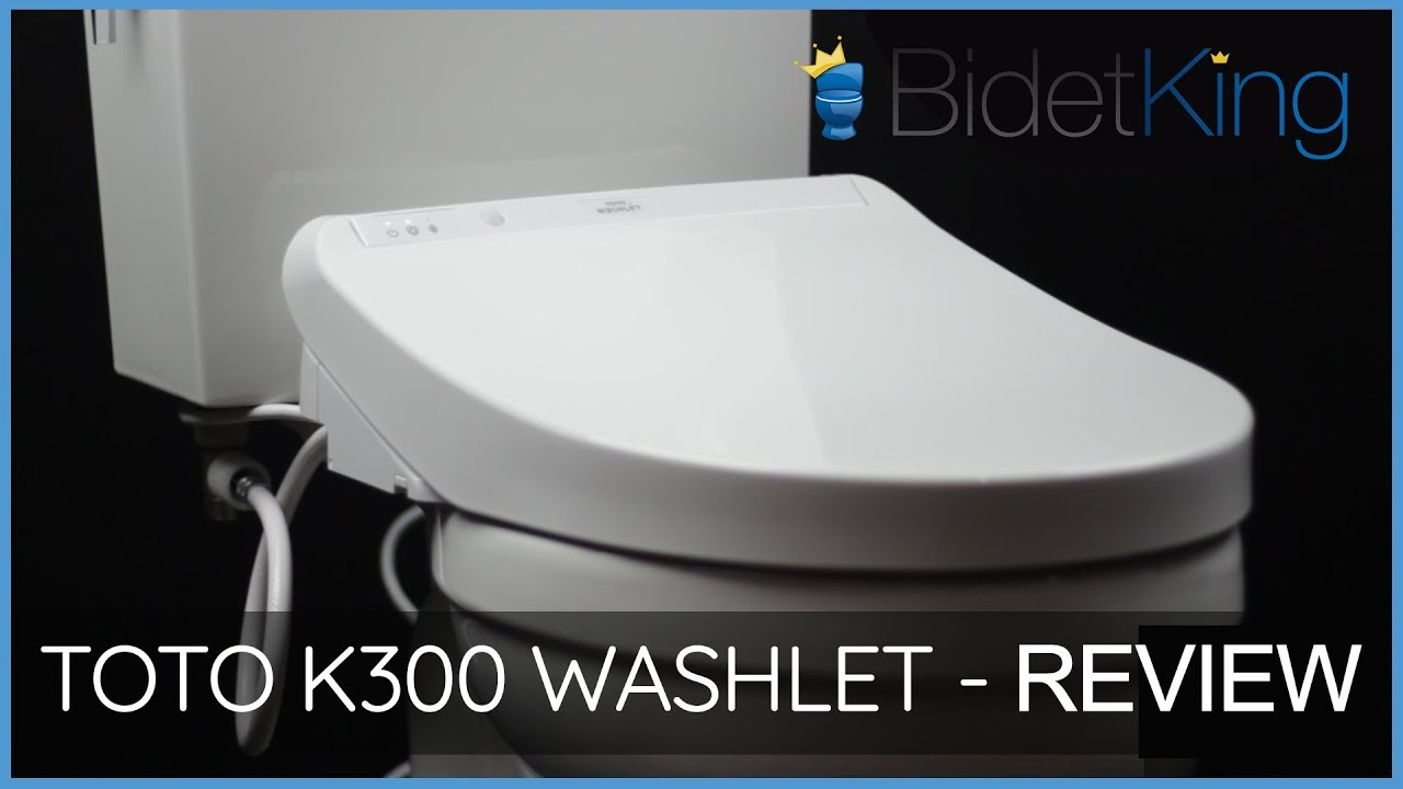 TOTO K300 SW3036 Washlet Bidet Toilet Seat Video Review | BidetKing ...