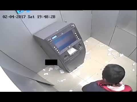 ATM money thieves India Bangalore