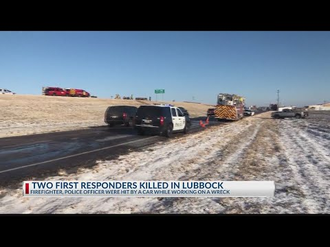 Lubbock Police Officer, Firefighter Killed While Working Crash