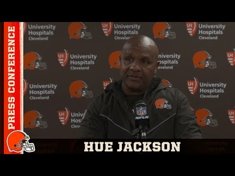 Hue Jackson Postgame Press Conference vs. Steelers | Cleveland Browns