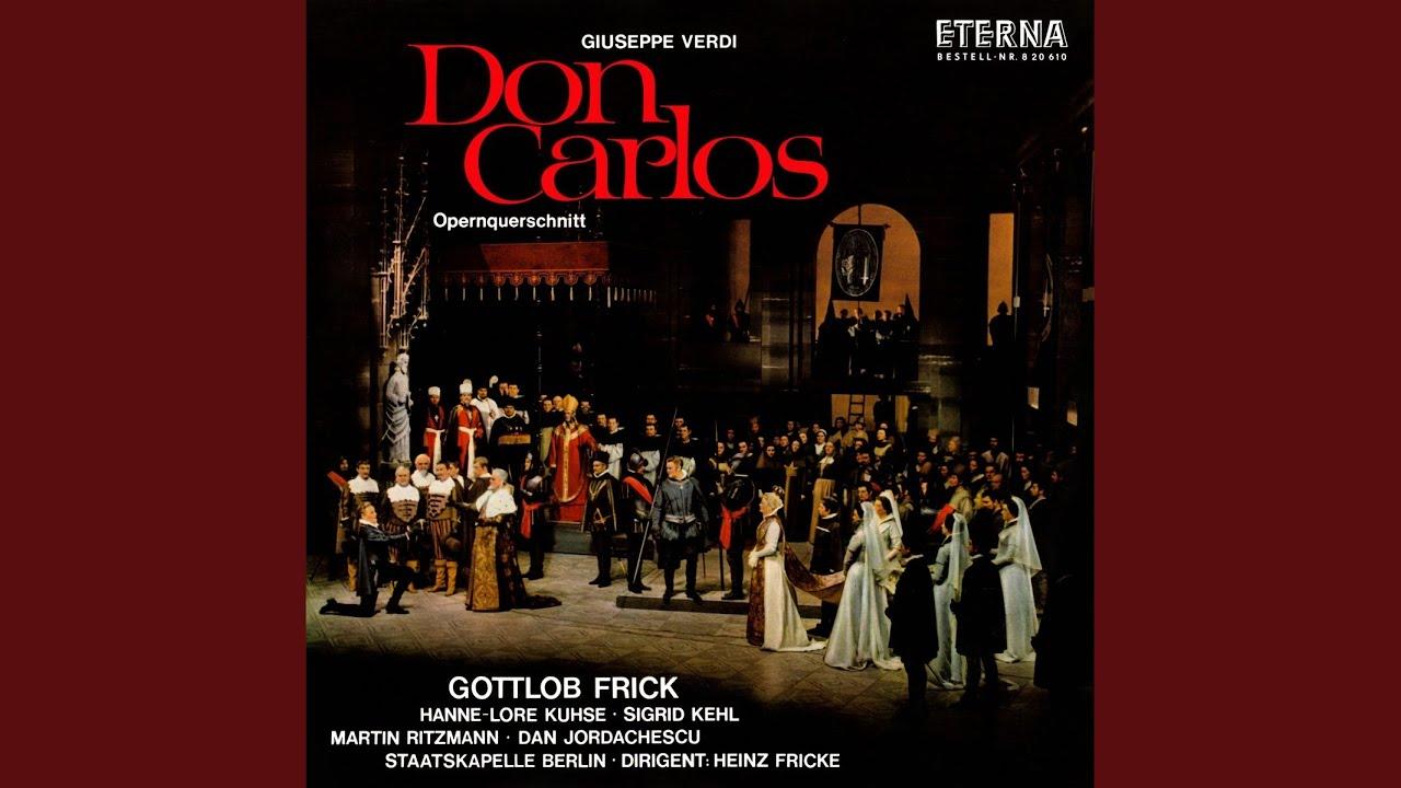 Don Carlos, Act III: Sie hat mich nie geliebt - Schlaf