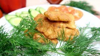 Рыба в луковом кляре Очень Вкусная и Нежная