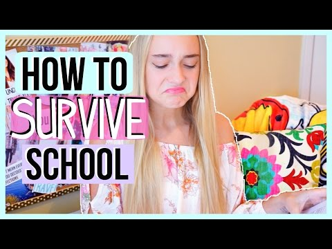 HOW TO SURVIVE THE END OF THE SCHOOL YEAR!