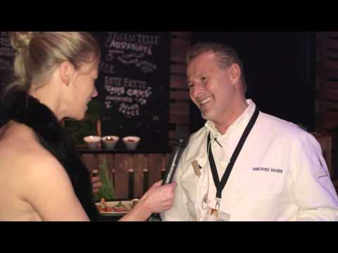 2 Sterne Koch Karlheinz Hauser | Catering | Behind the Show | Interview | GOLDENE KAMERA 2016