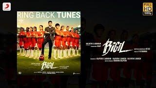 Bigil - Singappenney Caller Tune Codes | Thalapathy Vijay, Nayanthara | A.R Rahman | Atlee | AGS