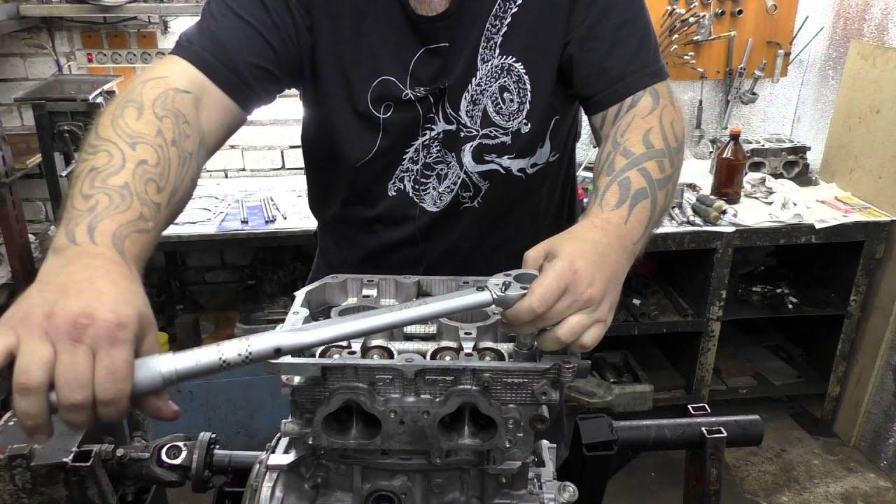 Сборка двигателя SUBARU Forester 2.0 Часть 1 - YouTube