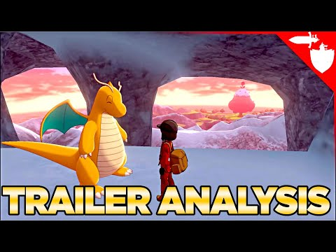 Deep Trailer Analysis of the Pokemon Sword and Shield Crown Tundra Announcement September 2020