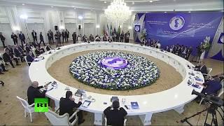 Заседание глав государств — участников V Каспийского саммита