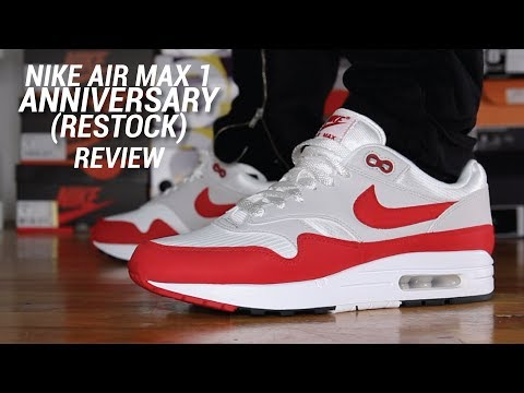 air max 1 anniversary red restock 2019