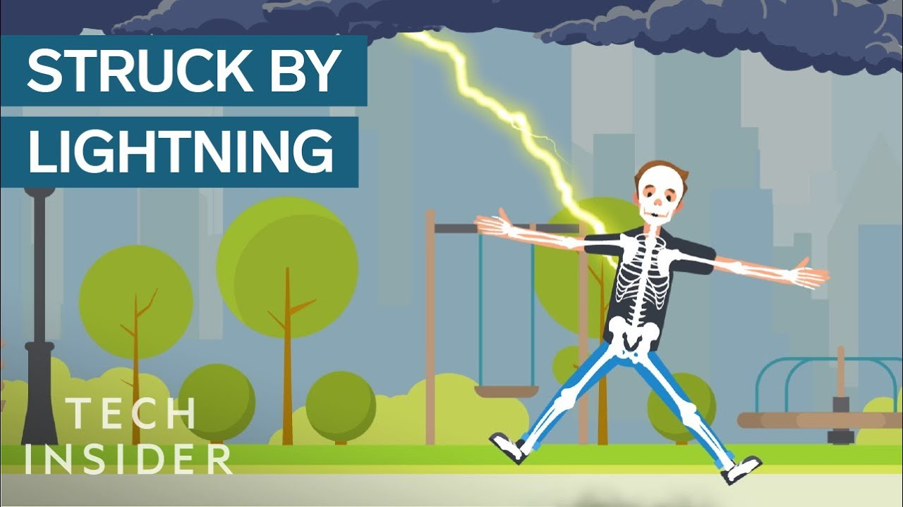 Download What Happens When You're Struck By Lightning? | The Human Body