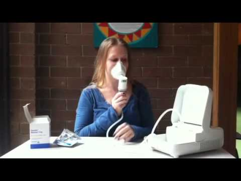 how to use a nebuliser
