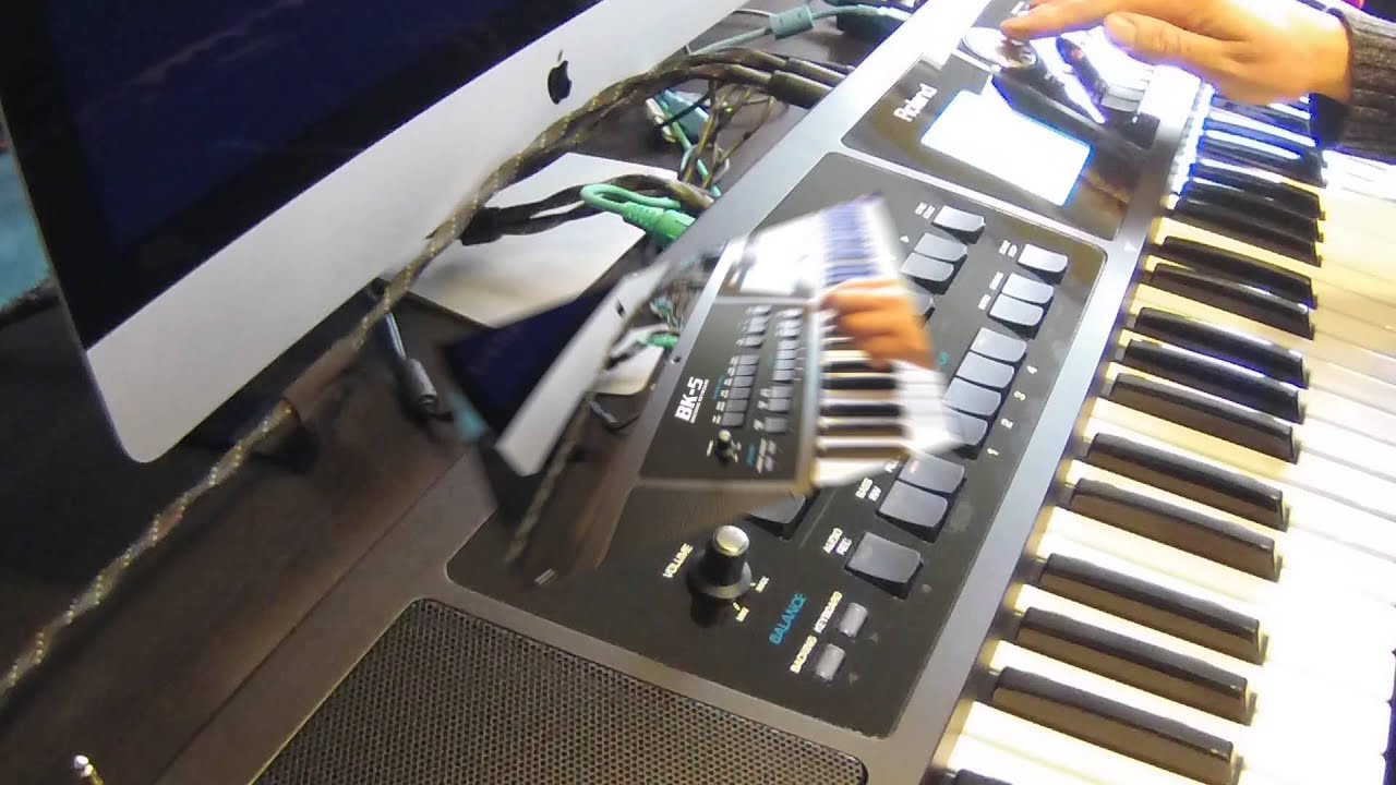 Playing Precision Styles with Roland BK 5