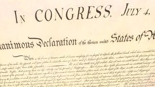 1st Newspaper Print of Declaration of Independence