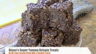 How To Make Delicious Gluten-free Rice Krispy Treats | Diana Stobo