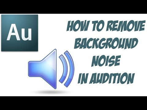 How To Remove Background Noise In Adobe Audition CC