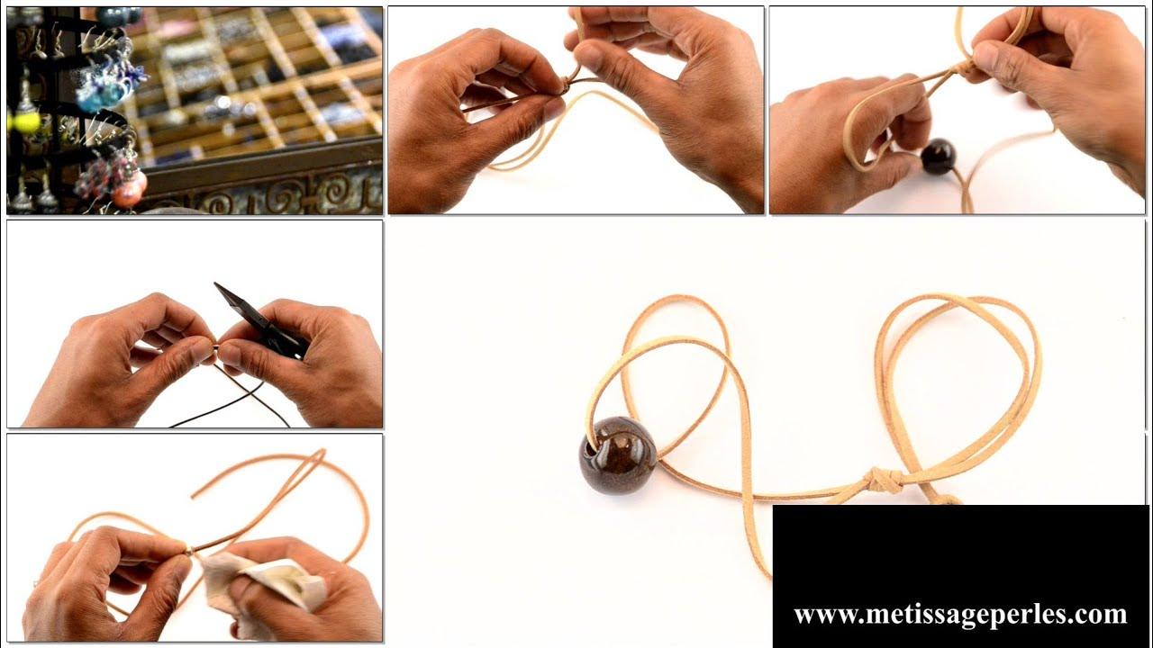 cordons cuir pour bijoux