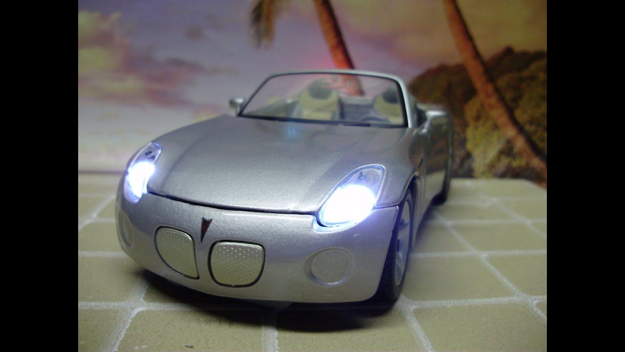 Custom 2006 Pontiac Solstice Diecast With Working