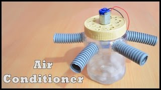 Homemade Air Conditioner - Awesome Air Cooler! -( SAVE MONEY) - Easy Tutorials