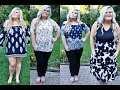 ROSEGAL PLUS SIZE CLOTHING TRY ON HAUL!