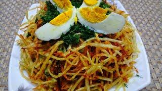 🥗Самый вкусный салат🥗 Машхур Куш ини Салати. Энг маззали салатлардан.👍
