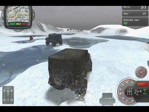 Игра Полный привод 2: УАЗ 4X4 - геймплей с комментарием