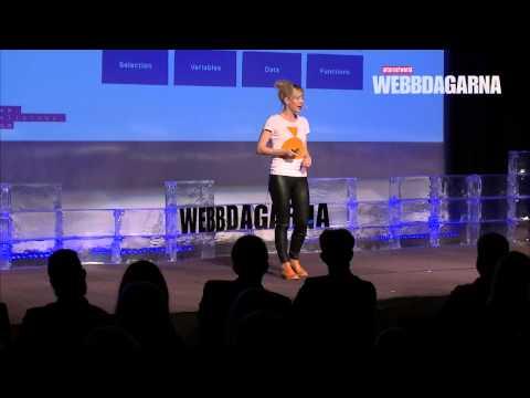 Linda Liukas, Webbdagarna Göteborg 2015