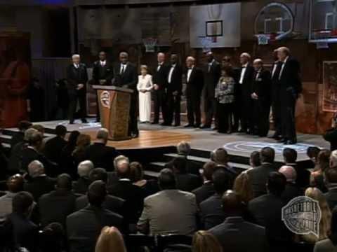 Texas Western's Basketball Hall of Fame Enshrinement Speech