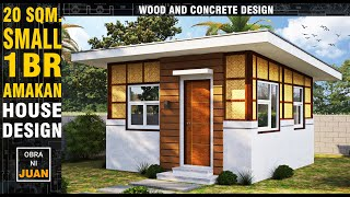 Small House Design -modern Traditional 1 Bedroom 20 Sqm.