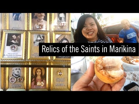 1000+ Relics of the Saints in Marikina?