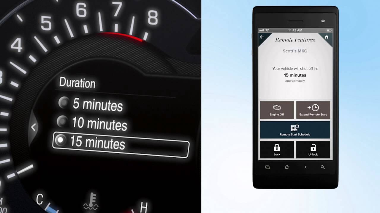 My Lincoln Mobile App >> Mylincoln Mobile App Scheduling Remote Starts