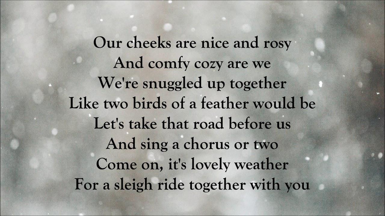 Gwen Stefani - Sleigh Ride (LYRICS)