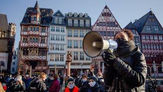 Protest in Frankfurt: Schüler fordern Schutz