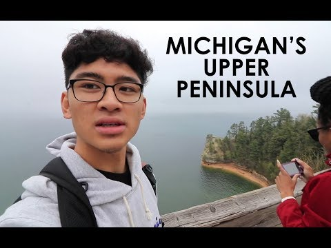weekend in Michigan's Upper Peninsula