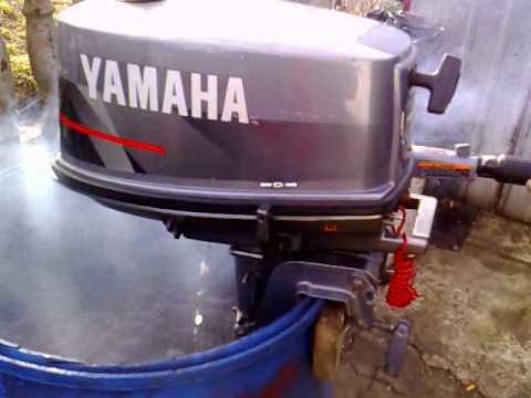 Yamaha 5 Hp Outboard Motor 1996r 2 Stroke Dwusuw Youtube