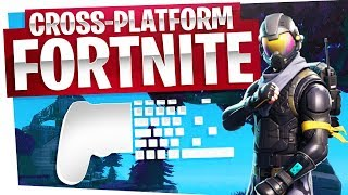 We played Fortnite Cross-Platform - PC vs Xbox Players - Not really fair...