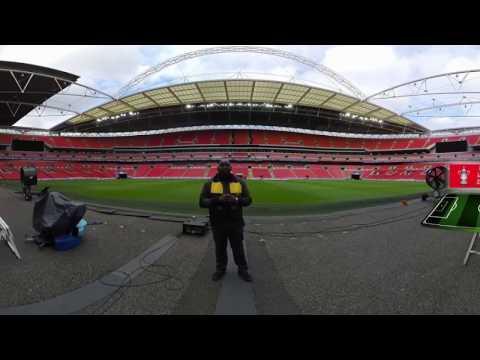 (INCREDIBLE VIRTUAL REALITY) Arsenal v Man City Starting XI - FA Cup Semi Final