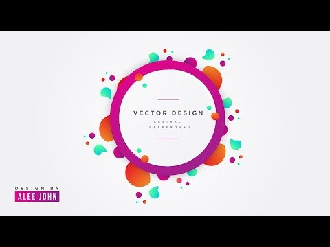 Vector Design | Abstract Background | Illustrator Tutorials | TL thumbnail