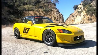 Driving a Crazy Time Attack Honda S2000 - One Take