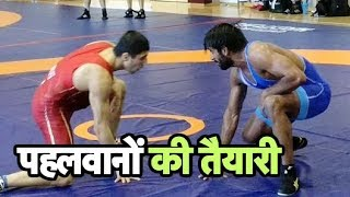 EXCLUSIVE: Bajrang Punia & Sakshi Malik Training Hard For World Championship | Sports Tak