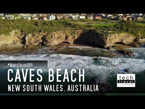 [4K] Caves Beach - New South Wales - Australia