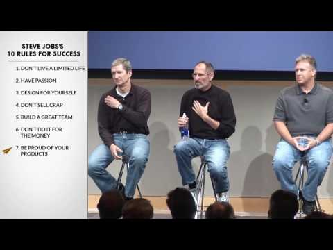 Steve Jobs's Top 10 Rules For Success 720p
