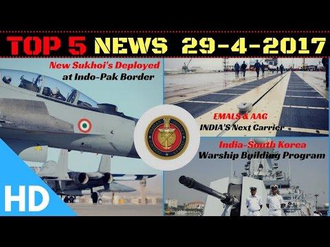 Top 5 Headlines : Indian Defence Updates