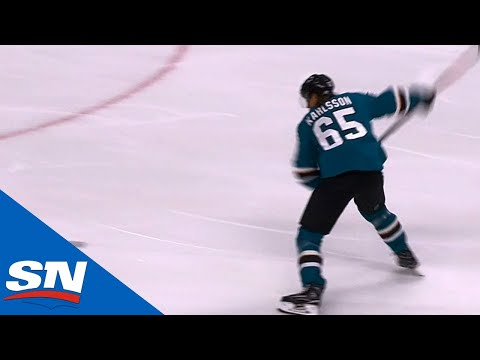 Erik Karlsson Scores First Goal As A San Jose Shark